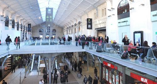 Saint Lazare: 80 boutiques dans la 2ème gare d'Europe - Actualité ...