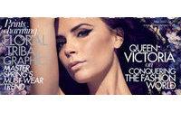 Victoria Beckham é capa da edição que celebra reinado de Elizabeth II