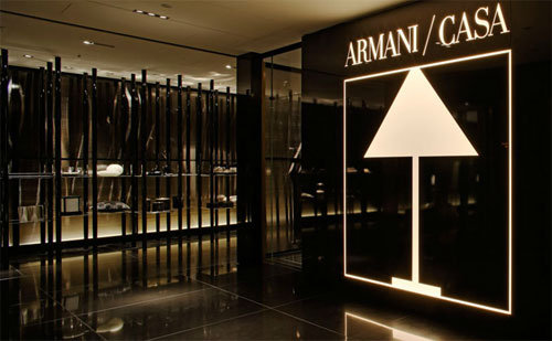 Armani casa primo negozio nel design district di miami for Armani arredo casa