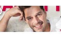 Ricky Martin mostra seus gêmeos
