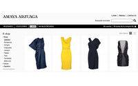 Amaya Arzuaga estrena tienda online con las últimas colecciones de moda y con sus vinos