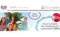 C&A lancia il suo e-commerce in Italia