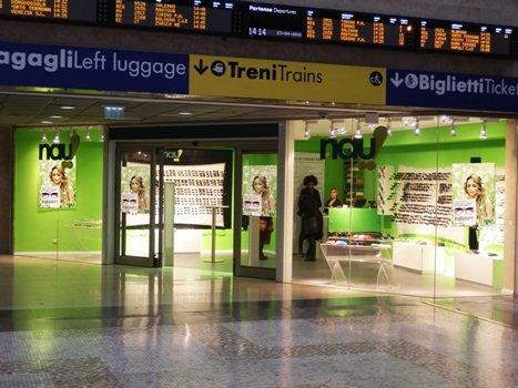 Nau nuovo store nella stazione di milano centrale - Da porta garibaldi a milano centrale ...