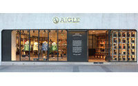 Aigle inaugure 135 mètres carrés sur les Champs-Elysées