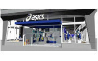 Asics to open more stores in Europe