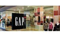 美国:盖普公布4月及第一季度销售业绩