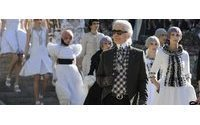 Модный дом Chanel устроил показ в Версале
