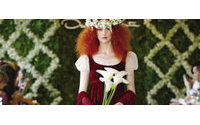 纽约婚纱周2013春季:经典与非传统并行
