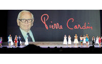 Pierre Cardin wird am 1. Juli Kollektion in Paris zeigen