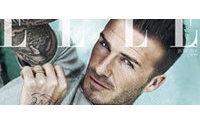 David Beckham na capa da Elle