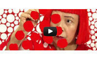 Video: Louis Vuitton ve puantiyelerin prensesi Yayoi Kusama