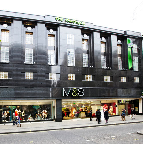 marks and spencer the biggest high street retailers Marks & spencer could axe dozens of high street stores and phase out clothing sales at others in there are five marks & spencer stores in north wales top.