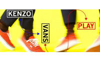 Kenzo for Vans推出渔网印花潮鞋