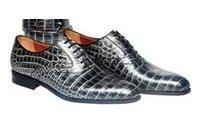Туфли из крокодиловой кожи от Uomo Collezioni