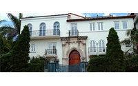 La mansión en la que asesinaron a Versace vuelve a estar a la venta