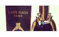 Gaga sprays first perfume, but where's the blood?