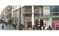 Inditex buys flagship London site for 155 million pounds