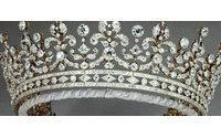 Queen's 10,000 diamonds on display in London