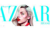 Harper's Bazaar traz Aline Weber na capa