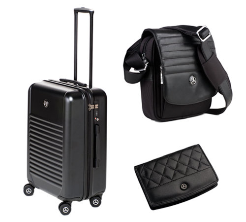 Mercedes benz names twc l 39 amy to launch its luggage and for Mercedes benz suitcase