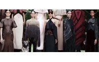 Состоялся показ Givenchy Haute Couture осень / зима 2012-13