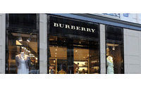 Burberry sales growth slows