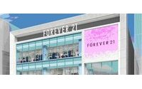 Forever21が道頓堀に国内最大級店舗 関西初