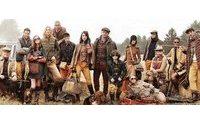 モデルTaoが12年秋冬「トミー ヒルフィガー」ファミリーに参加