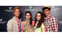 美国服饰潮牌American Eagle第二季销售额上涨11%