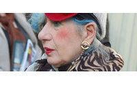 İtalyan moda yazarı Anna Piaggi 81 yaşında vefat etti