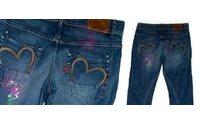 Agatha Ruiz de la Prada y sus jeans