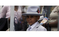 The  Sartorialist -  On the street.... Easter in Harlem, NYC