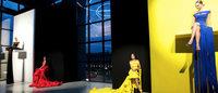 MFW: Chiara Boni, omaggio a Fontana con La Petite Robe