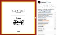 Rag & Bone joins the Mickey Mouse party with new Disney collaboration