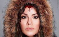 Natalia Avelon macht sich mit PETA für in der Pelzindustrie missbrauchte Tiere stark