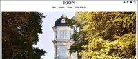 Joop! stellt Online-Auftritt neu auf