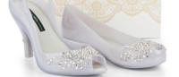 Melissa cria sapatos para noivas