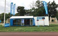 Decathlon teste un magasin itinérant en container