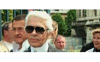 Lagerfeld denies calling French president an 'idiot'