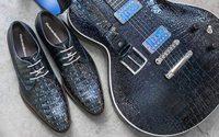 Floris van Bommel designt Gitarre für Theo Scharpach