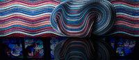 イッセイ ミヤケの素材技術と写真から色を抽出する技術がコラボ