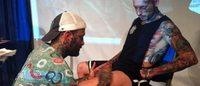 Tatuaggi come un quadro grazie ad una nuova tecnica