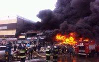 В России стали чаще гореть торговые центры