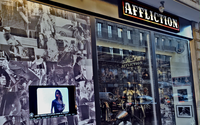 Affliction Clothing installe son univers rock à Paris