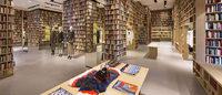 Sonia Rykiel habille trois boutiques phares de bibliothèques