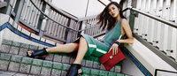 バロックの靴ブランド「スタッカート」新広告に中国人スーパーモデル起用