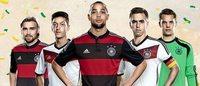 Adidas vende mais de 3 milhões de camisas da seleção Alemã