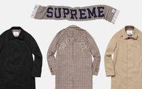Supreme presenta una colección con Aquascutum