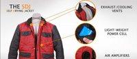 バック・トゥ・ザ・フューチャーの自動乾燥ジャケットを米企業が開発