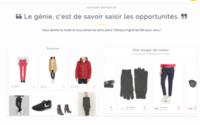 Bonjour Ingrid propose de détecter les « prix immanquables » des produits mode en ligne